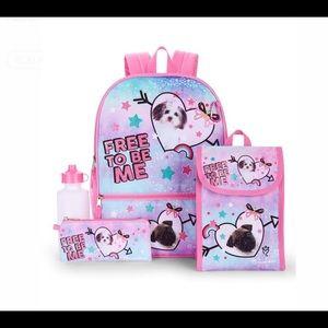 Backpack new little girls puppy